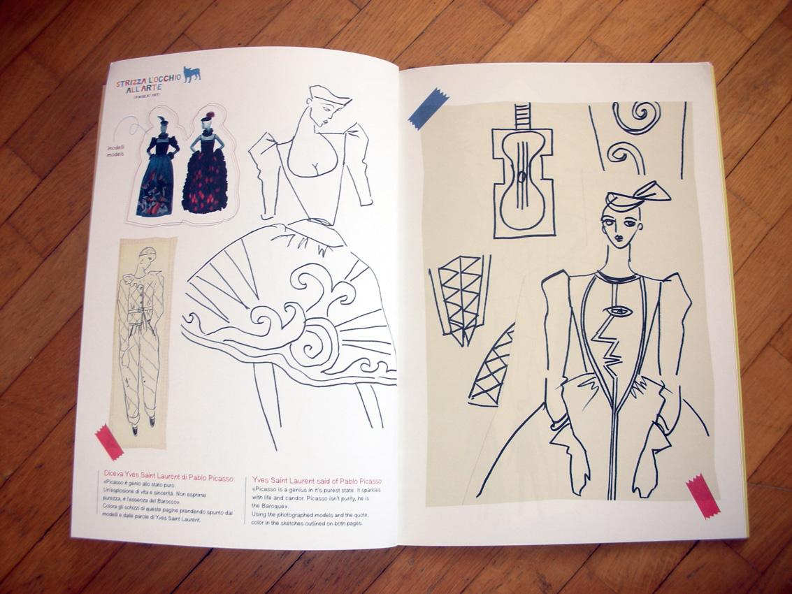 Coloring book yves saint laurent - Tags Lavanderia18 Yves Saint Laurent Advertisements